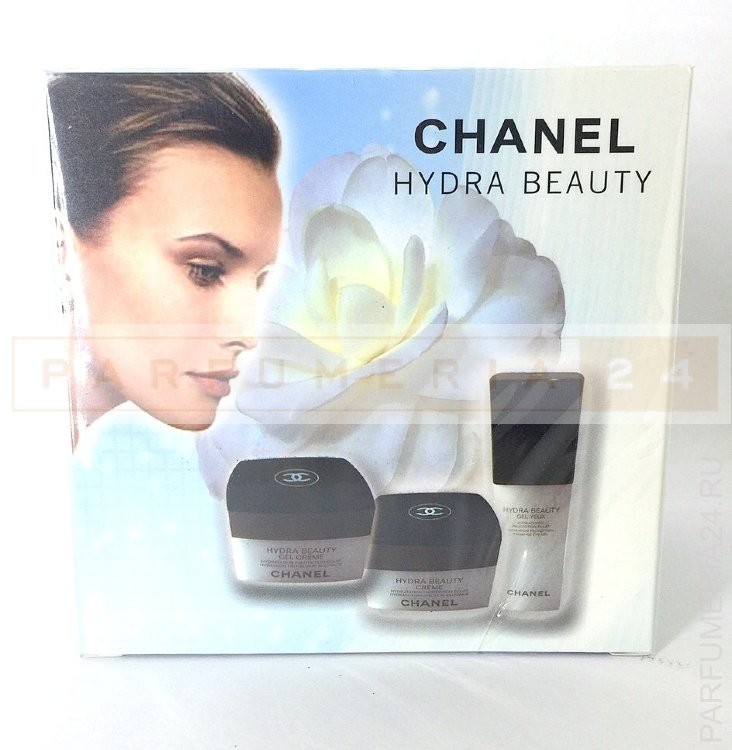 НАБОР КРЕМОВ CHANEL HYDRA BEAUTY 3 В 1