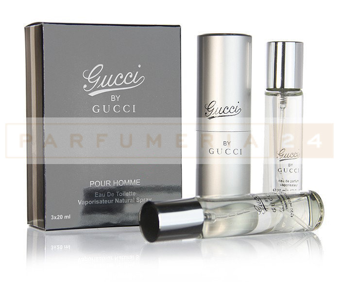 Духи 3 по 20 мл Gucci by Gucci Pour Homme