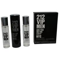 Духи 3 по 20 мл 212 VIP Men Carolina Herrera