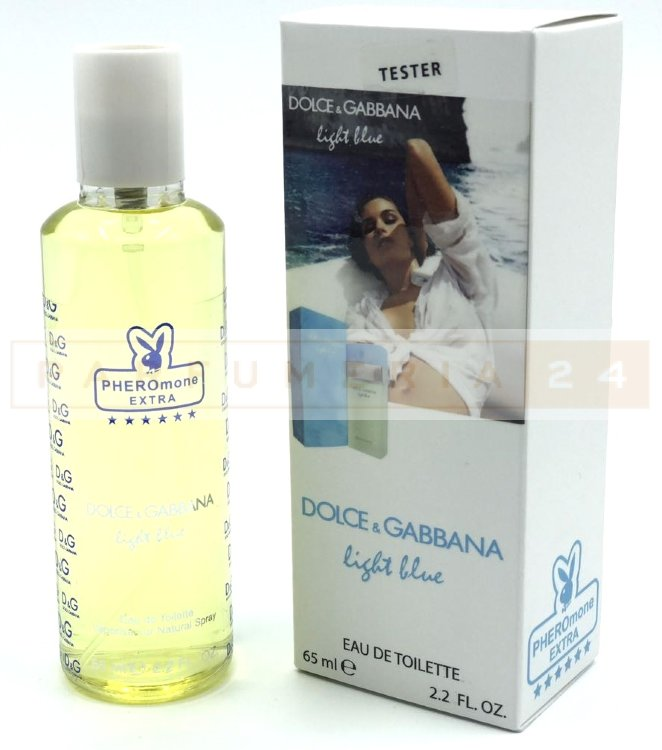 Мини-парфюм 65 ml с феромонами Dolce & Gabbana Light Blue for women