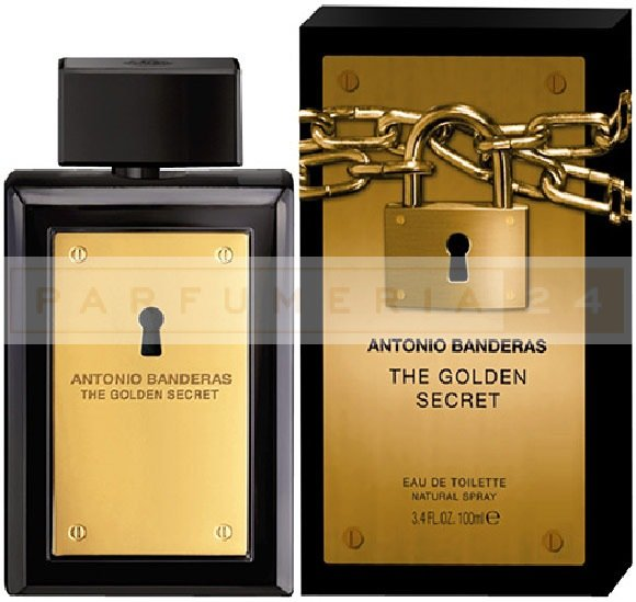 Antonio Banderas Gold Sectet  for men 100ml