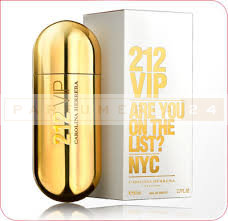 C.H Carolina Herrera -212 VIP for (GOLD) /100ml (ж)
