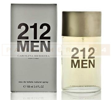 Туалетная вода- Carolina Herrera, 212 For MAN/100ml