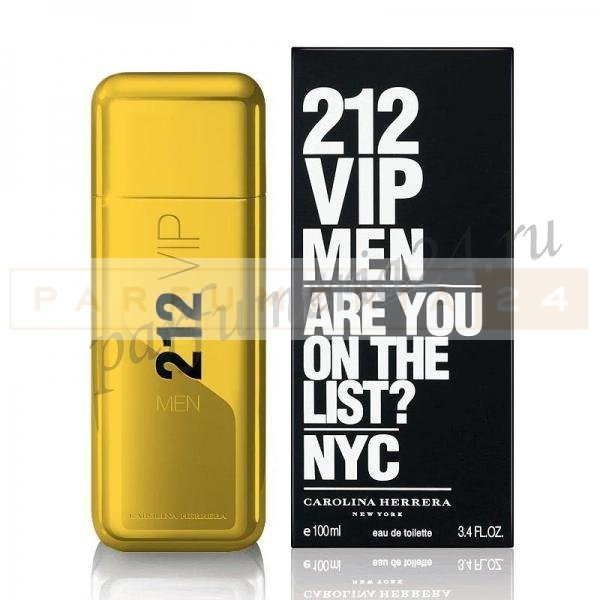 Carolina Herrera - 212 Vip Men Gold,100 ML