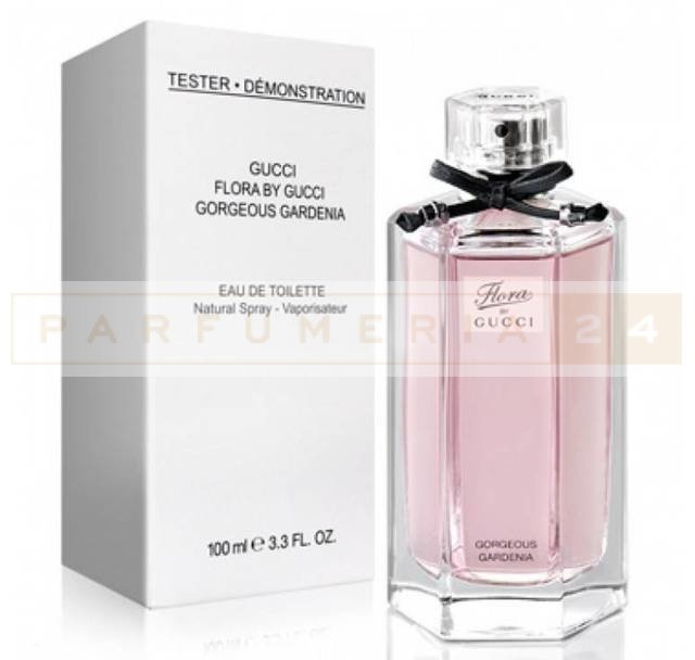 Тестер Gucci Flora by Gucci Gorgeous Gardenia 100 ml