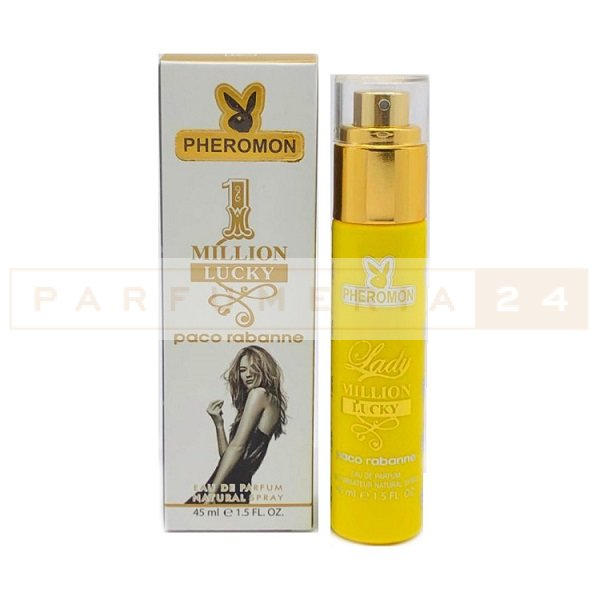 Мини-парфюм с феромонами Paco Rabanne Lady Million Lucky, 45 ml