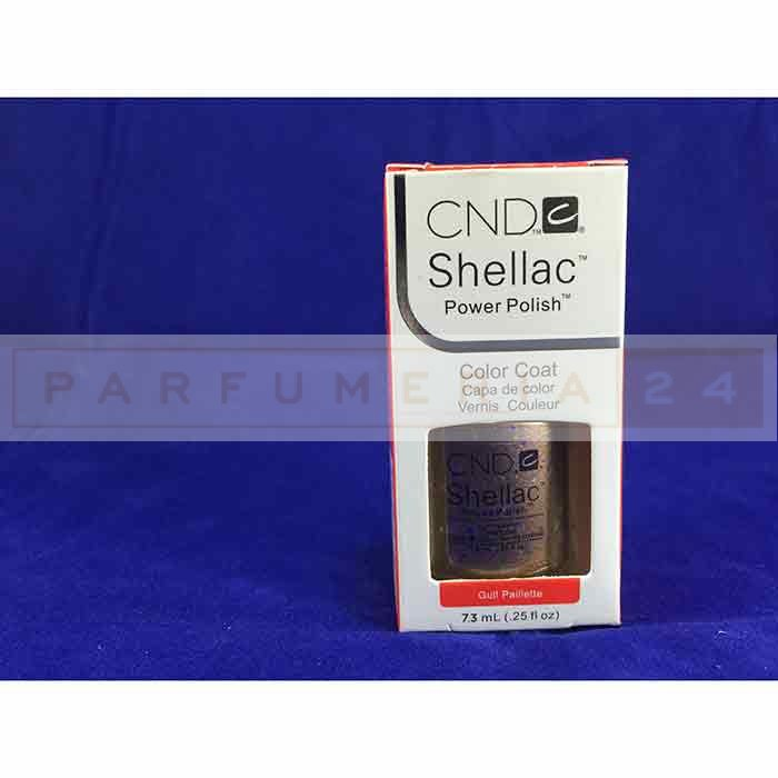 Гель лак Shellac CND Gull Poillette