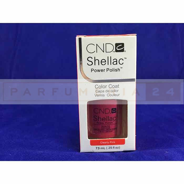 Гель лак Shellac CND  Clearly Pink