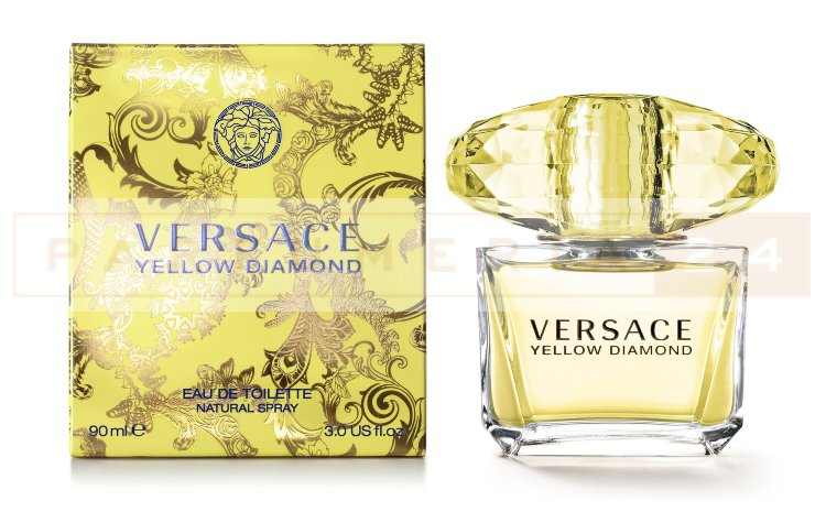 Versace - Yellow Diamond Women edt 90ml