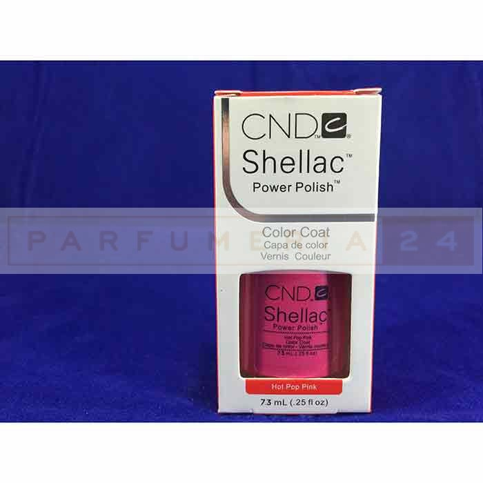 Гель лак Shellac CND  Hot Pop Pink