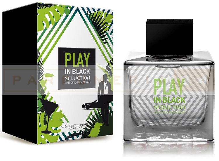 Antonio Banderas PLAY SEDUCTION IN BLACK