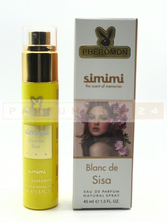 Мини-парфюм с феромонами Simimi Blanc de Sisa,45ml