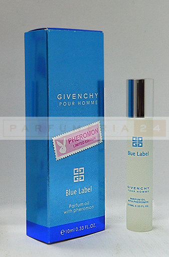 Масляные духи Givenchy Blue Label Pour Homme, 10 ml