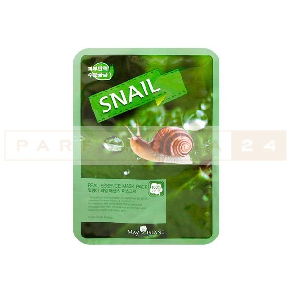 Тканевая маска May Island Snail Real Essence Mask Pack