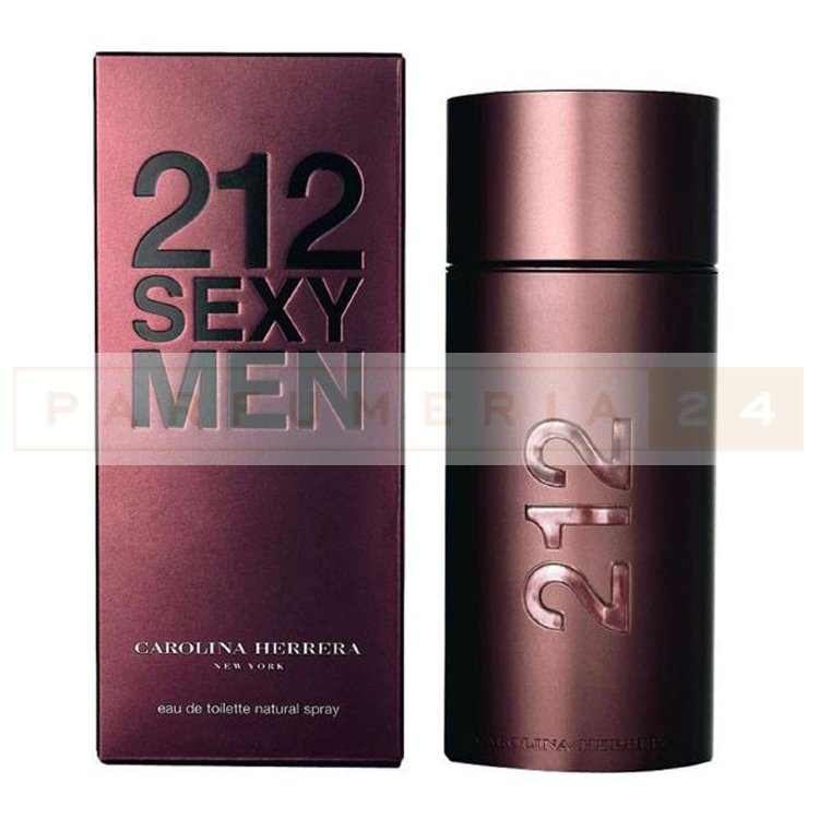 Carolina Herrera 212 Sexy Men (магнит) 100ml