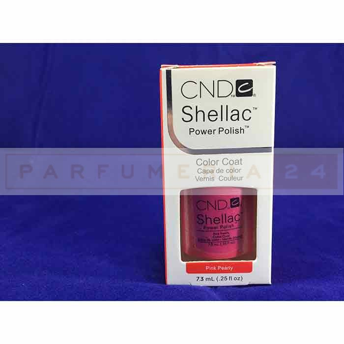 Гель лак Shellac CND Pink Pearly